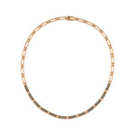 Beads Single Row Choker - Champagne Diamond