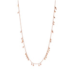 Drop Seed Necklace (60cm) - Gold