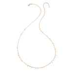 Bar Seed Necklace (60cm) - Gold