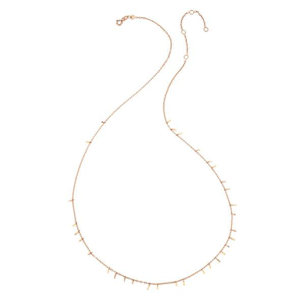 Bar Seed Necklace - Gold