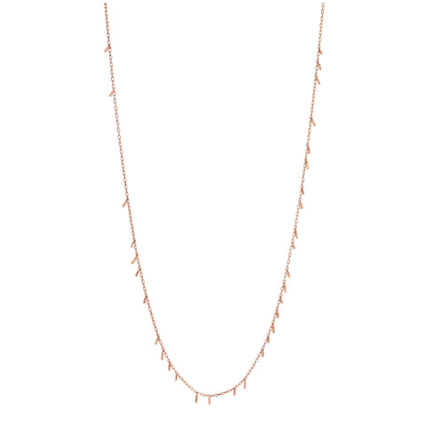 Bar Seed Necklace (60cm)