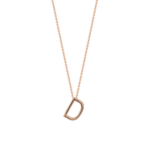 D Cubic Big Size Necklace - Gold