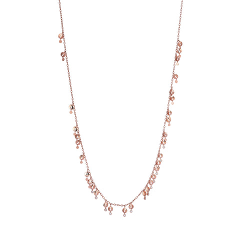 Swinging Pomegranate Seed Necklace (60cm)