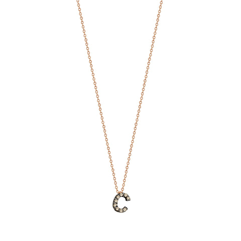 C Cubic Small Size Necklace
