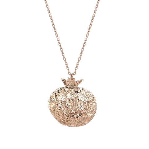 Pomegranate Rose Gold Medium Necklace