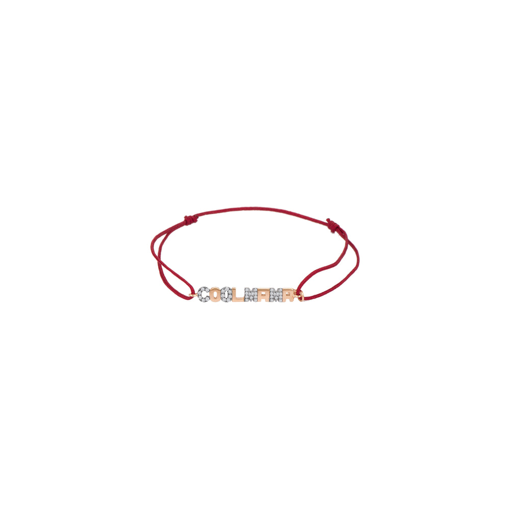Cool Mama Cord Bracelet - White Diamond