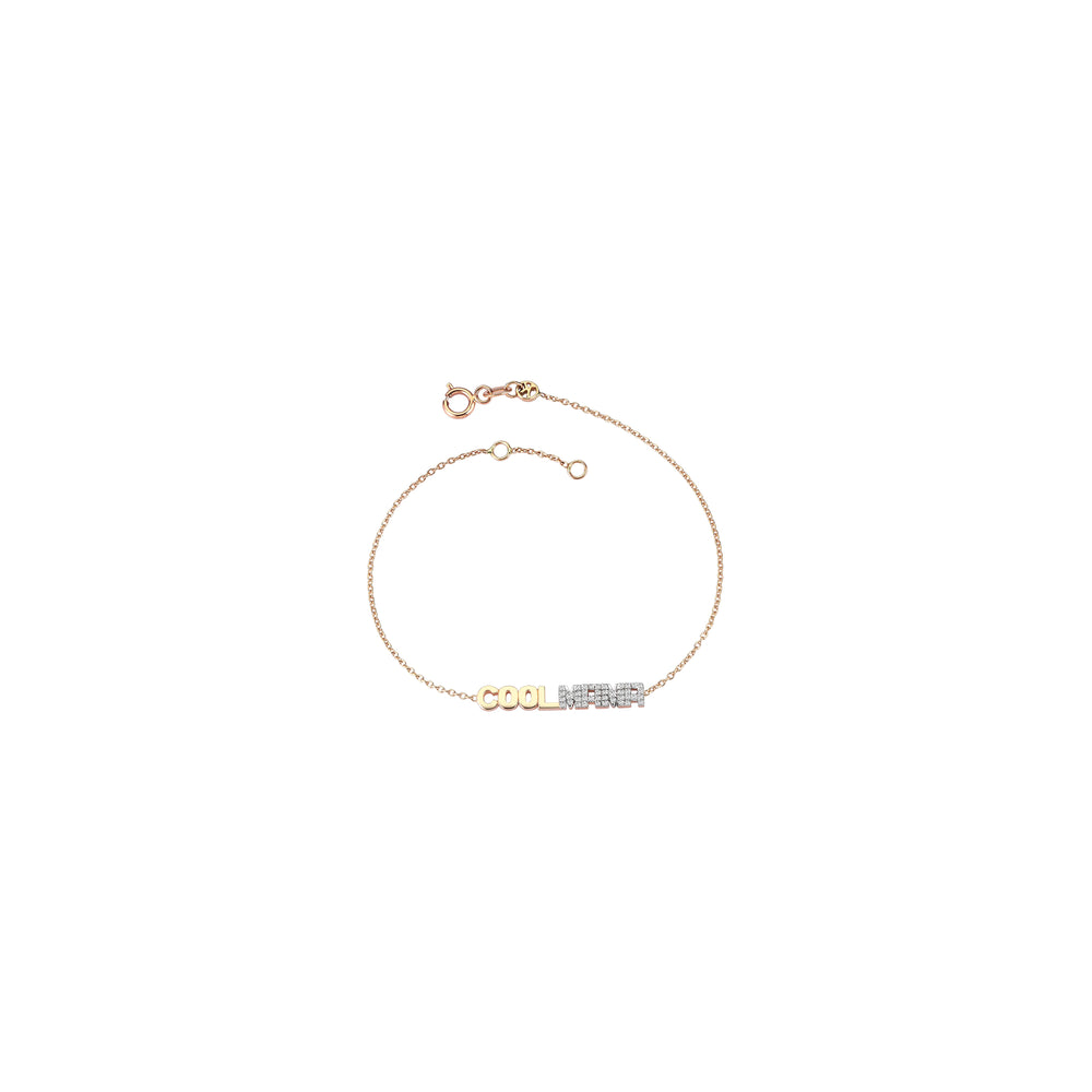 COOL MAMA Bracelet - White Diamond