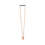 Lumiere Bar Double Chain Stud (Single)