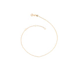 Thin Chain with 3 jump rings - Gold
