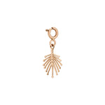 Palm Tree Charm - Gold