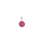 Locket Charm - Ruby