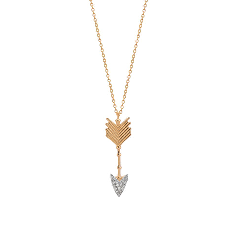 Large Arrow Necklace