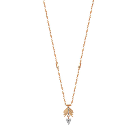 Mini Chevron Arrow Necklace
