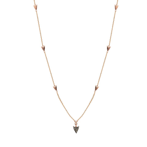 Mini Arrow Chain Necklace