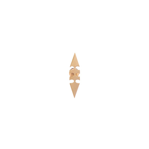 Double Sided Arrow Earring (Single)