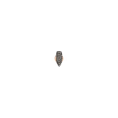 Pave Arrowhead Stud (Single)