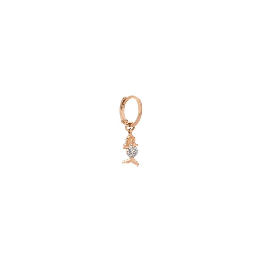 Virgo- The Virgin Single Hoop Earring (Aug 23-Sep 22)