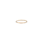 Thin Twist Ring - Gold