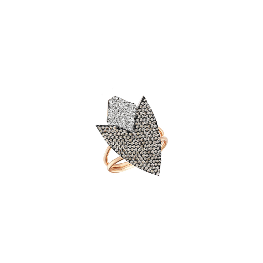 Two-Color Arrowhead Ring