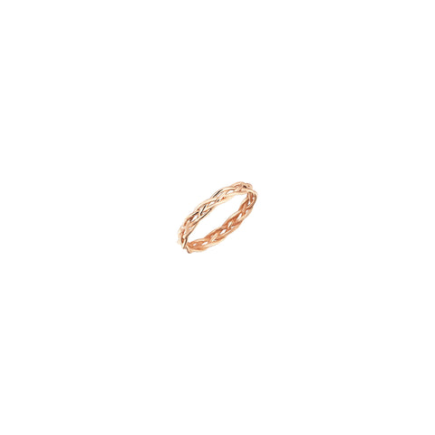 Midi Wire Knit Pinky Ring
