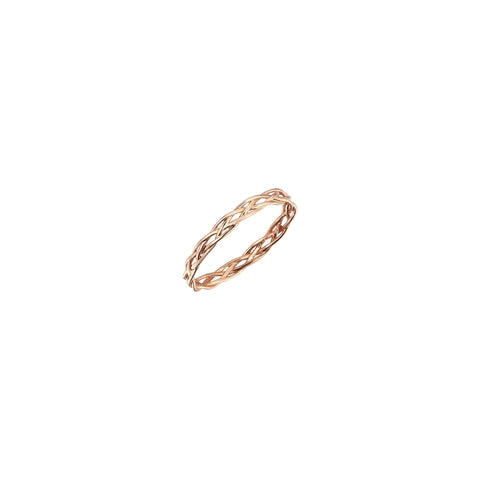 Thin Wire Knit Ring