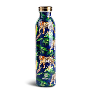 Load image into Gallery viewer, 20 oz Retro - Vintage Leaves - Manna Hydration