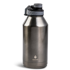 Load image into Gallery viewer, 64 oz Convoy - Gunmetal Matte Metallic - Manna Hydration