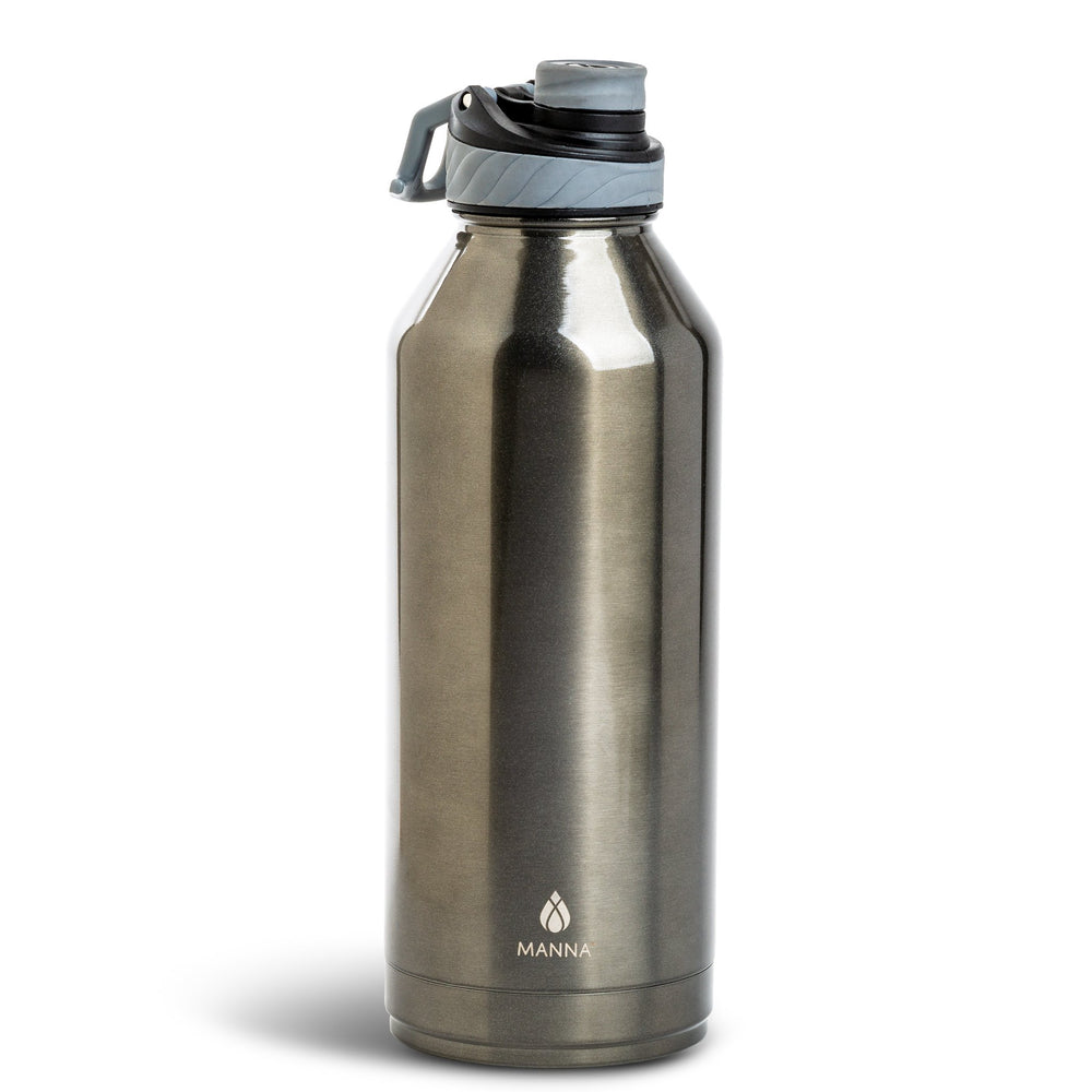 Load image into Gallery viewer, 80 oz Convoy - Gunmetal Matte Metallic - Manna Hydration