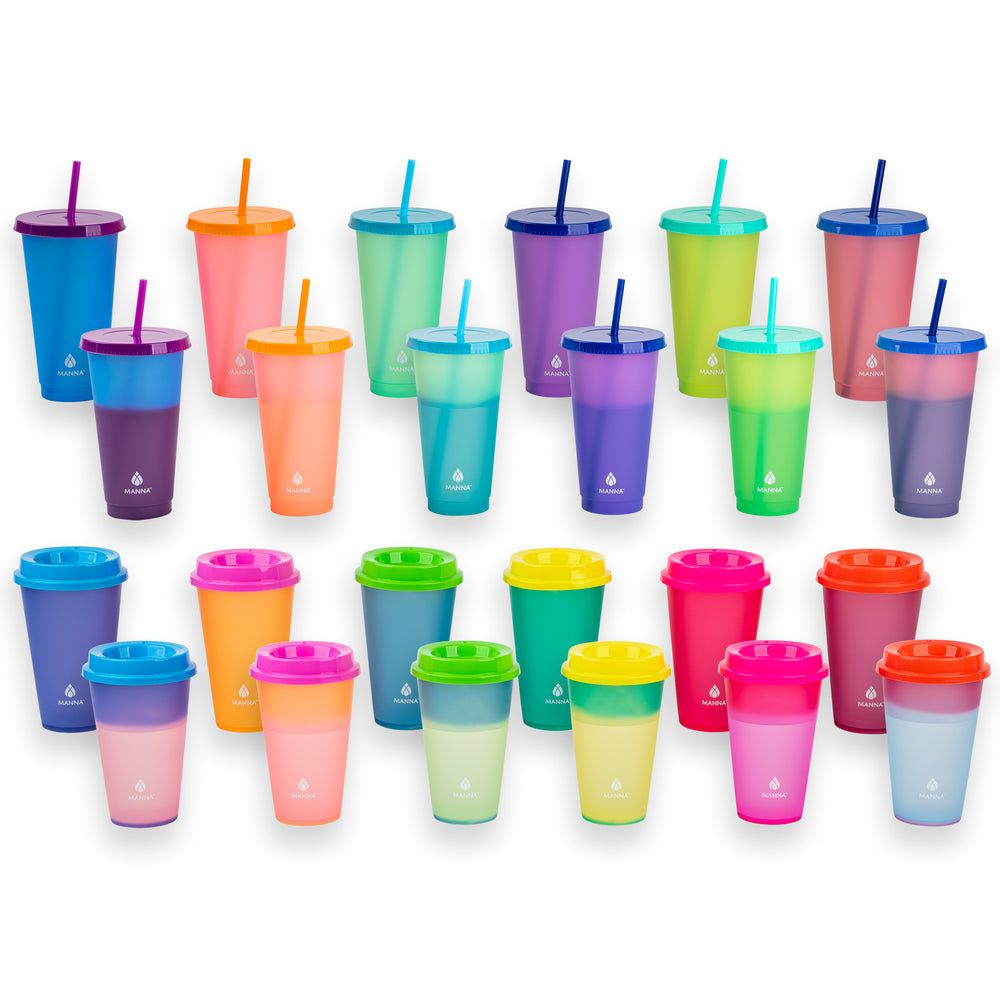 24 ct Color Changing Cups - Manna Hydration