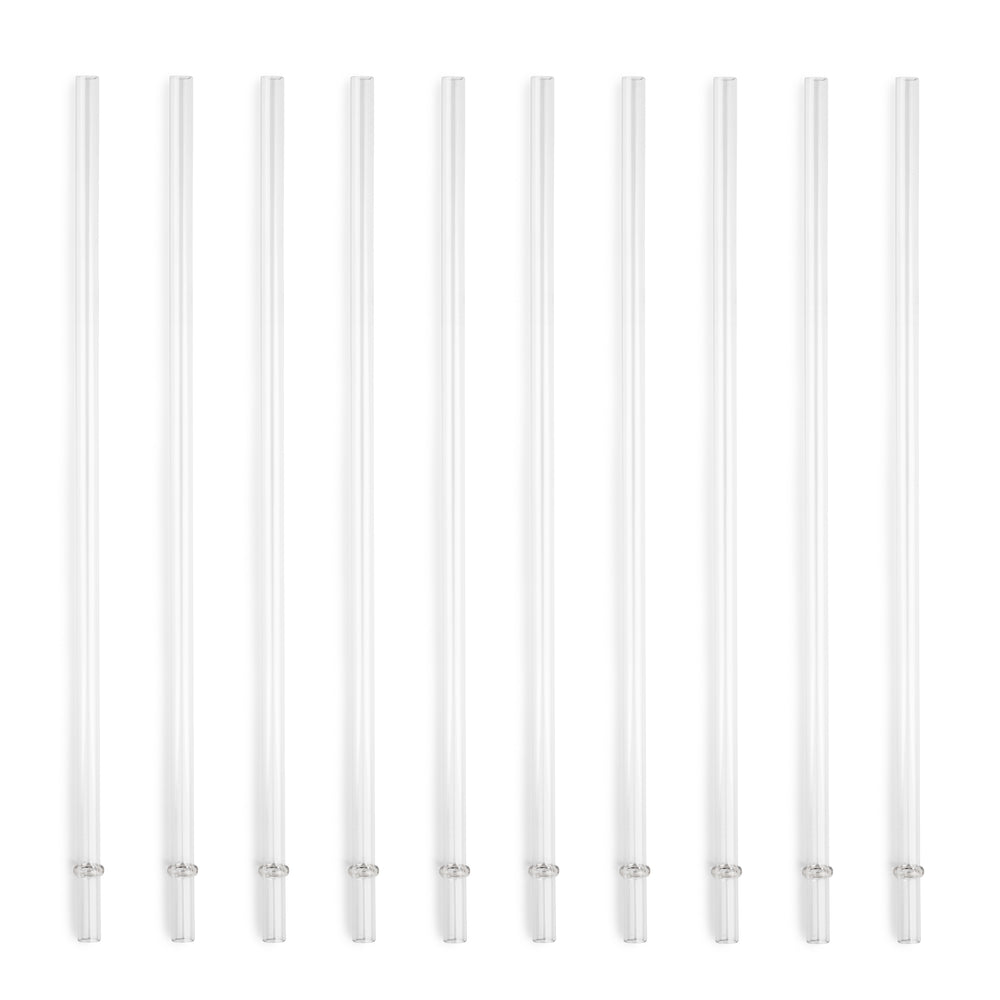 10 pc Replacement Straw Set For 24 oz Chilly Tumblers - Manna Hydration