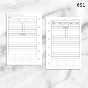 051: Project Planner