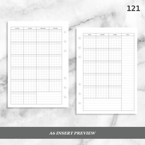 121: Standard Grid Monthly Mo2P