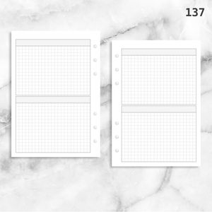 137: Two Horizontal Grid Boxes