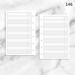146: Large Checklist Grid