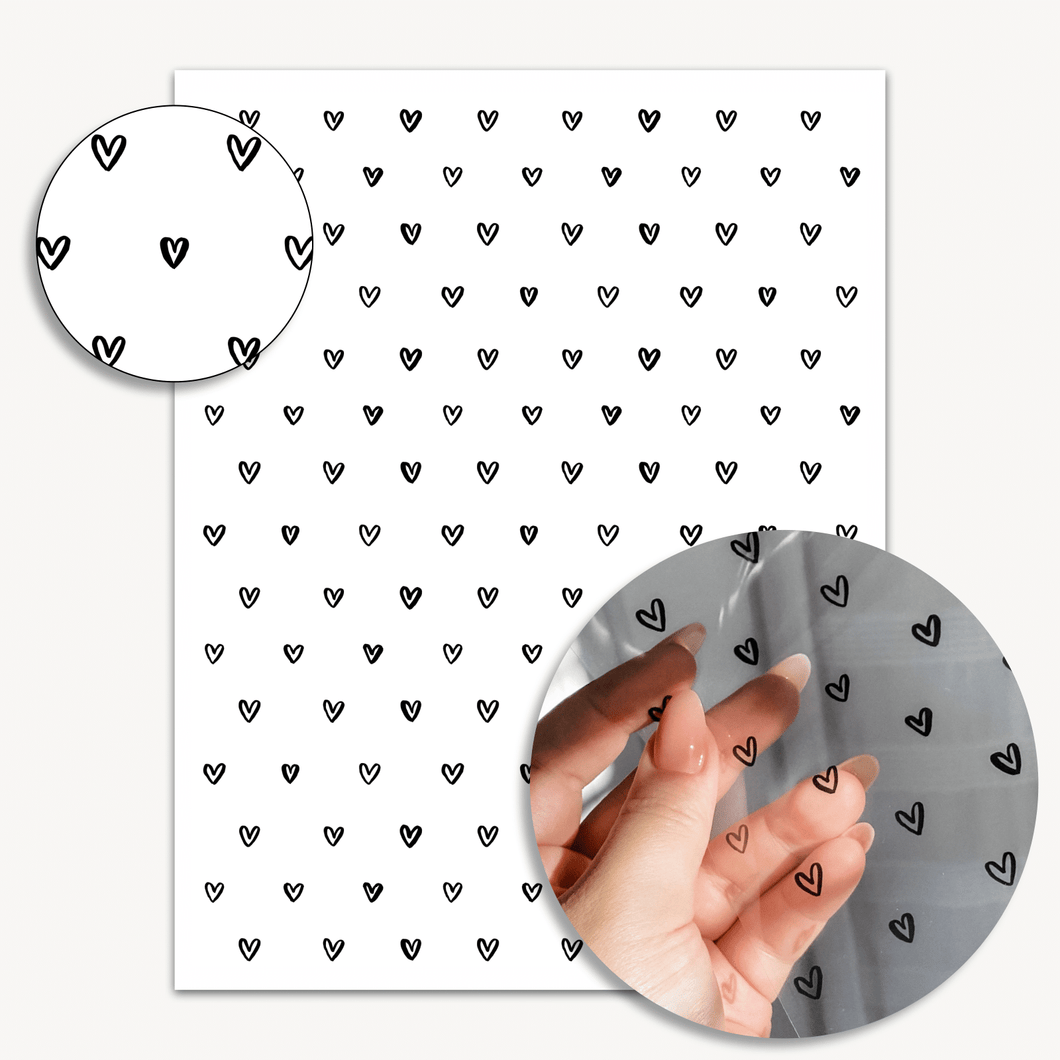 ⚬ Open Hearts Acetate