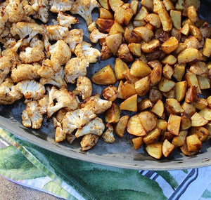 Umami Roasted Potatoes & Cauliflower Recipe