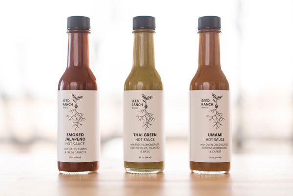 Mixed Pack: All 3 Sauces FREE SHIPPING