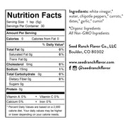 Smoked Jalapeno nutrition facts and ingredients