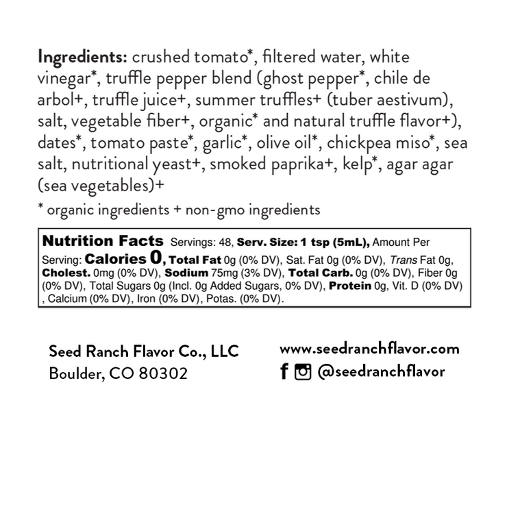 Truffle hound ingredients and nutrition