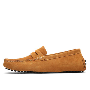 Suede Driving Moccasin