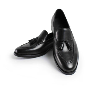 Calf Tassel Loafer Black