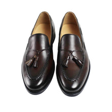 Calf Tassel Loafer Dark Brown