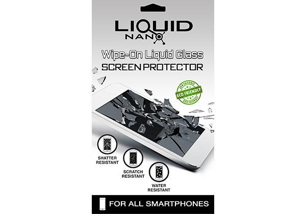 LiquidNano Wipe On Liquid Glass Screen Protector (International) Single Pack