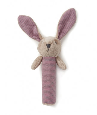 Baby Bunny Rattle Pink