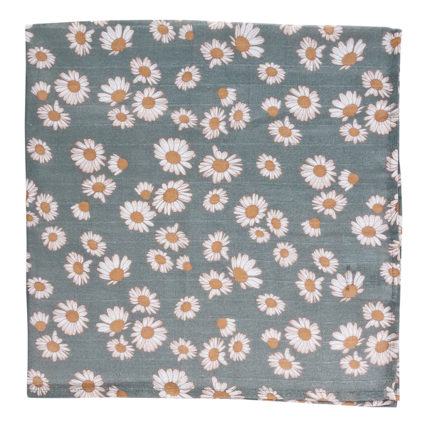 Daisy (Storm Blue) Swaddle