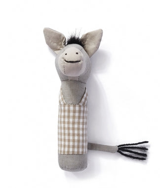 Edwardo the Donkey Baby Rattle