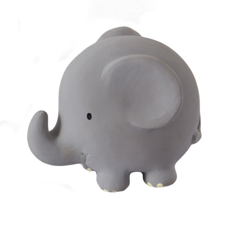 Tikiri Elephant Rubber Teether and Rattle