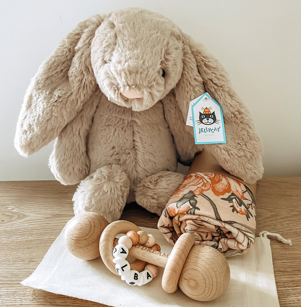 Newborn Essentials Bundle with Rattle