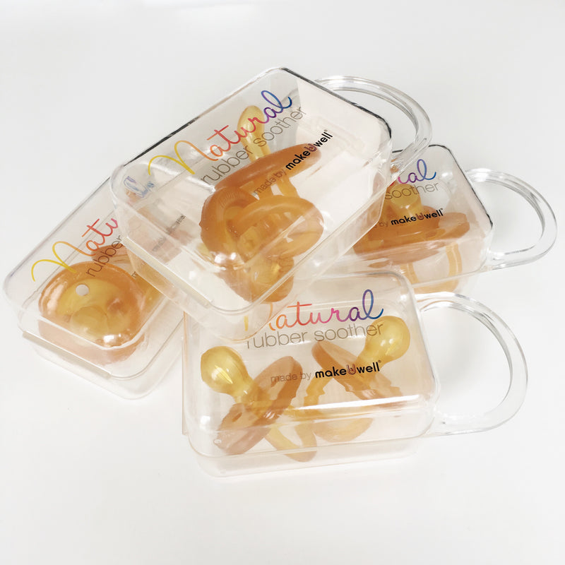 MakeUwell-Natural Rubber Soother Twin Pack