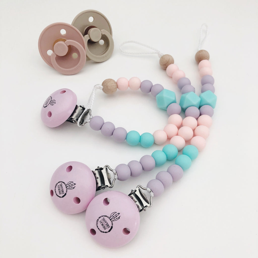 'Bubblegum' Silicone Dummy Chain